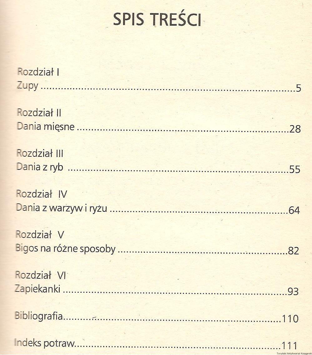 Kuchnia Polska Dania Jednogarnkowe