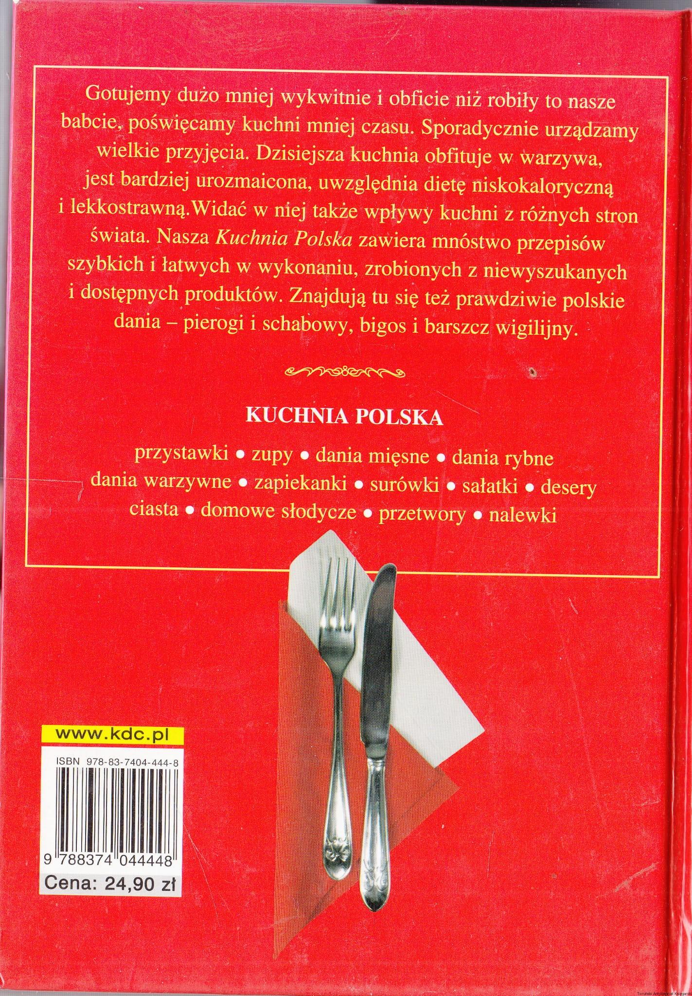 Kuchnia Polska 1500 Przepisów Małgorzata Caprari