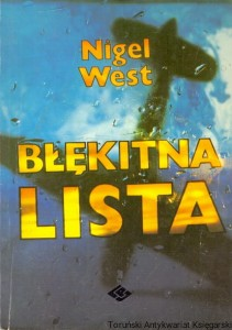 Błękitna lista / Nigel West