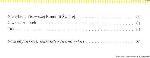 Pierwsza Komunia Z Białą Kokardą Ks Jan Twardowski