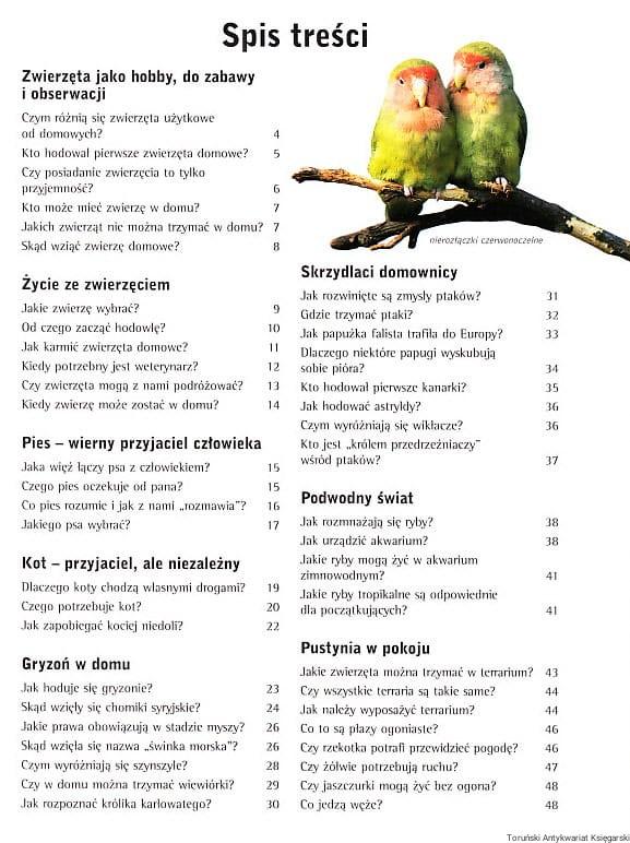 Chłodny Zwierzęta domowe / Heinz Sielmann Toruński Antykwariat Księgarski CM32