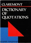 Dictionary of Quotations (Claremont Pocket Reference Library)