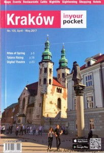 Kraków in your pocket No. 105, April-May 2017 / Praca zbiorowa