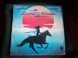 LP Country Roads / The Geoff Love Country Singers